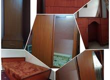 غرفة نوم خشب تقيل ملبس قشرة سميكة موجودة بجديدة عرطوز