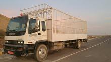 للبيع شاحنة عشرة طن ممتازة و نظيفة ايسوزو