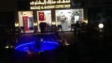 مقهى قائم للبيع ب 5 مأذونيات في العامرات السادسة/ مسقط