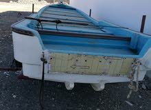 قارب للبيع من نوع فيروز23 قدم بحالة جيدة
