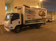 دينا براد نوع ايسوزو 2017 خدمات نقل مبرد داخل وخارج الرياض