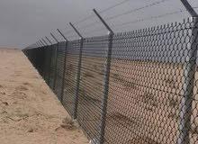 مقاول شبوك والسياج الأمني