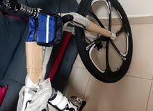 دراجة هوائيه قابلة للطي مقاس 26