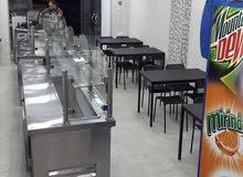مطعم للبيع مجهز بالكامل للمأكولات الشرقية والتواصي بسعر مغري
