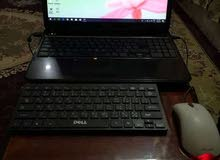 لاب توب Dell للبيع core i 5 او مراوس بموبايل A50
