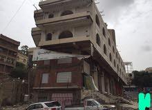 مبنى مكون من ثلاثه ادوار للبيع او للإيجار