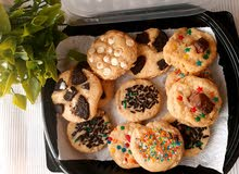 mixed cookie box with 12 or 24 cookies