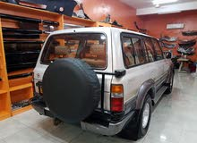 Silver Toyota Land Cruiser 1997 for sale