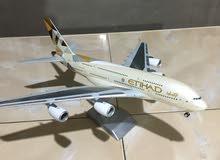 نموذج طائرة ايربس A380 صبغة الاتحاد