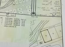 ارض سكنية سور العبري غرب