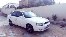 White Hyundai Verna 1999 for sale