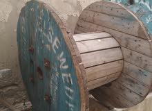 بكرات كوابل خشبية للبيع