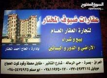 شقه ارضيه للإيجار في حي الجامعه خلف بانكوك سنتر