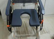 Shower Buddy commode chair  كرسي للاستحمام