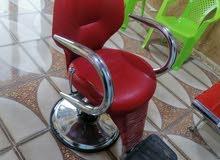 كرسي حلاقه +مرايه +ميز للبيع سعر 270