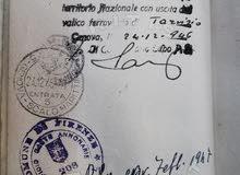 جواز سفر فلسطيني 1946م