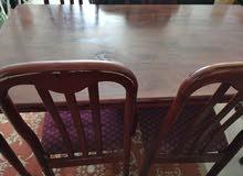 Table and 4 chair طاولة و3كراسي