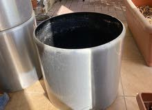 Pure Stainless Pots fir Plants for Sale 100Dhs each