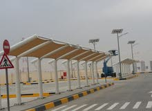 CAR PARKING SHADE !TENSILE SHADE!FABRIC TENT SHADE