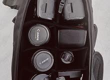 شنطة  ظهر كاميرا اصلية مستعملة استعمال نظيف
