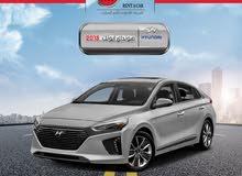 Hyundai Ioniq 2018 for rent