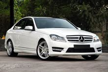 Mercedes Benz C 200 2013 For sale - White color