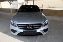 Silver Mercedes Benz E 200 2017 for sale