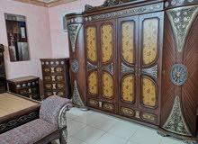 غرفة نوم خليجيه سعوديه ملوكيه وفخمه وراقيه