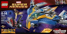 LEGO Superheroes The Milano Spaceship Rescue Building Set 76021