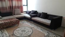 شقه مفروشه بابراج الراشديه مساحة كبيره فرش مودرن موقع متميز