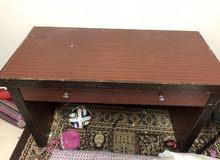 مكتب خشب بدرجين