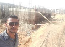 مهندس مدني مصري خبره 4 سنوات في اعمال الخراسانات والتشطيبات