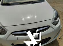 White Hyundai Accent 2013 for sale