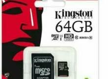 كارت ذاكرة 64GB