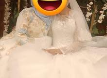 فستان زفاف سندريلا