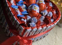 حلويات وتوزيعات لكل مناسبات