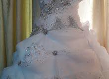 فستان عرس مستعمل