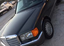 Automatic Black Mercedes Benz 1990 for sale