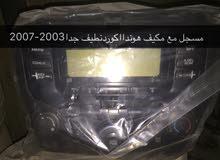 مسجل مع مكيف اكورد2003-2007