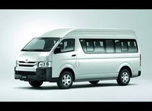 Toyota Coaster 2018 For Rent - Beige color
