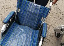 مقعد كرسي معاقين جديد السعر سعر الجملة 150 الف ومستعدون لتجهيز المحلات  الكمية محدوده