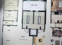 شقه للبيع بالتقسيط في حي الوزراء شيراتون المطار مصر الجديده نصف تشطيب 200م
