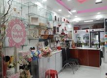 محل للبيع او للاستثمار* flower shop  for urgent sale or investment
