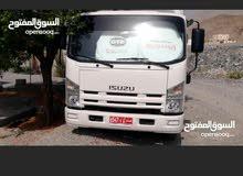 شاحنه ايسوزو للايجار اليومي ونقل البضائع في جميع مناطق السلطنة