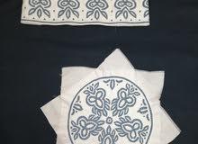 كمة عمانية رجالي خياطة يدوية
