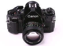 كاميرا canon a-1 موديل ال 1987
