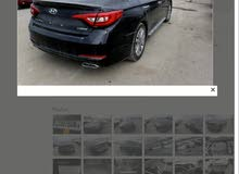 Black Hyundai Sonata 2017 for sale