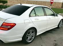 White Mercedes Benz C 300 2013 for sale