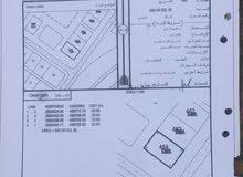 الارض سكني تجاري في ولاية صحم حفيت رقم الارض 464