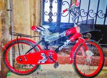 عجلة اولادي مقاس 20 صيني جديدة يوجد لونين ازرق و احمر ب1000 جنية بدلآ من 1500 ج